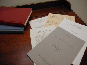 Professor Jochens's books and articles at Cook Library